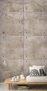 Stein Tapete 3d : vlies foto tapete 3d stein beton platten digital druck wandbild 1 59mx2 80m ebay ~ A.2002-acura-tl-radio.info Haus und Dekorationen