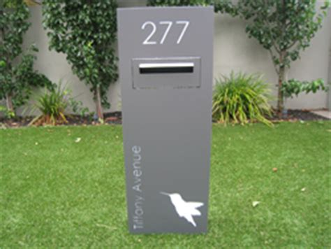 standing letterboxes sassysigns