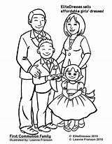 Coloring Pages Printable Communion Preschoolers Reunion Clipart Chic Getcolorings Preschool Idea Pdf Colorings sketch template