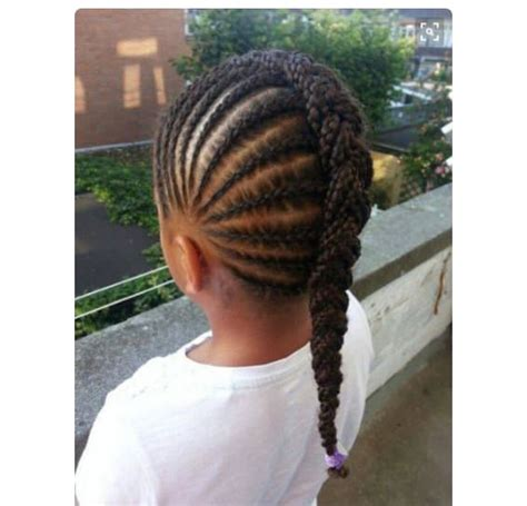 simple protective styles   girls headed
