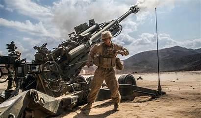 M777 Marine Military Base Guantanamo Bay Howitzer