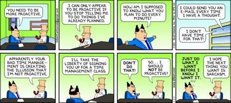 be more proactive dilbert