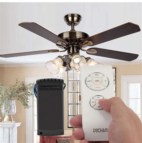 add remote control to ceiling fan aliexpress com buy universal wireless ceiling fan l