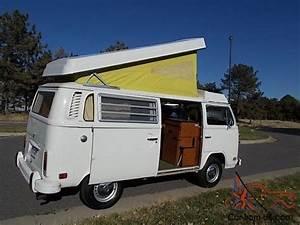 1974 Volkswagen  Vw  Westfalia Camper Bus - Very Nice Condition