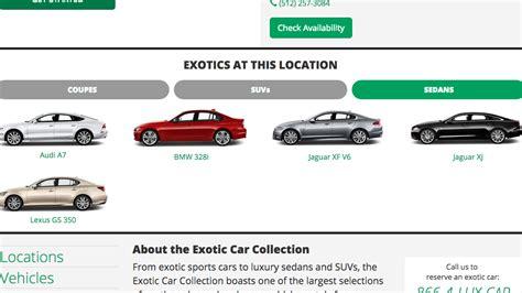 Enterprise's Exotic Car Rental Comes To Austin Area