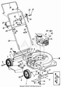 Mtd 111050r  1991  Parts Diagram For Rotary