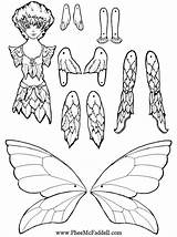 Puppet Coloring Paper Pages Puppets Crafts Fairy Dolls Craft Printable Cut Sheets Pheemcfaddell Nights Five Flicker Master Fairies Doll Template sketch template