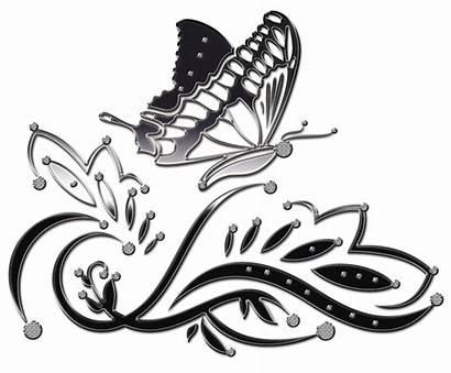 Butterfly Decorative Clipart Ornament Elements Mamietitine Transparent