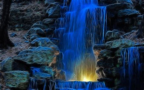Living Waterfalls Animated Wallpaper - moving waterfall desktop wallpaper wallpapersafari