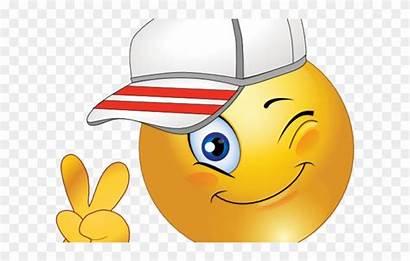 Smile Clipart Baseball Face Smiley Emoji Cap