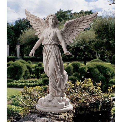 design toscano 38 quot of patience sculptural painted resin garden statue ebay