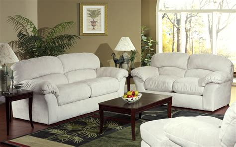 ideas  white living room furniture