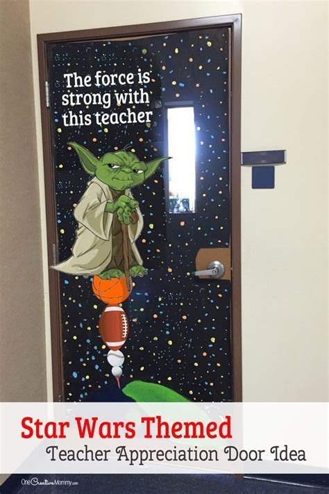 cool star ward themed door decorating idea featured