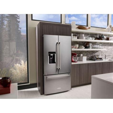 "KitchenAid KRFC704FSS 36"" Counter Depth French Door"