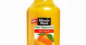 Best Orange Juice: Minute Maid Pure Squeezed No Pulp 100% ...