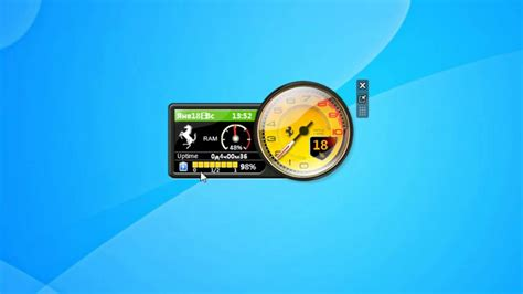 Ferarri Cpu Gadget For Windows 7