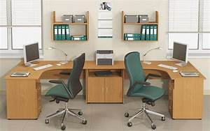 20, Space, Saving, Office, Designs, With, Functional, Work, Zones, For, Two