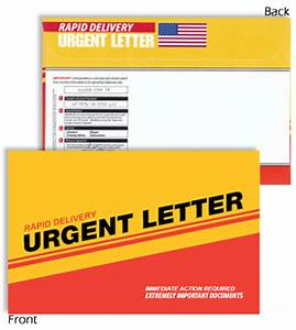 3d mail results proven direct mail to increase roi With urgent letter envelopes