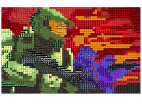 Pixel Art Grid