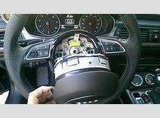 Steering wheel swap on C7 Question AudiWorld Forums