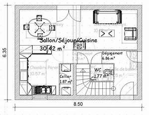 plan de maison r1 gratuit With plan maison r 1 gratuit