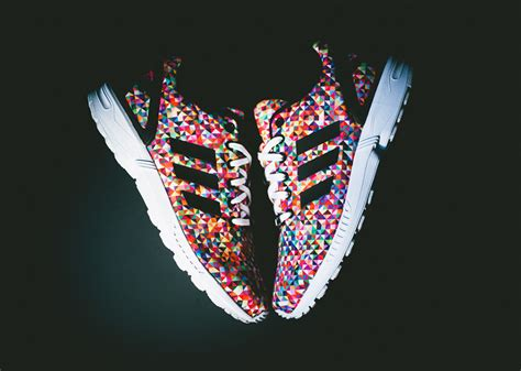"""adidas ZX Flux """"Multicolor""""  Available SneakerNewscom"""