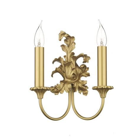 rococo georgian or regency period double gold candle wall