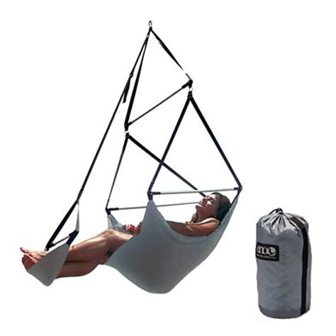 Eno Lounger Hanging Chair Stand by Eno Portable Swing Lounger