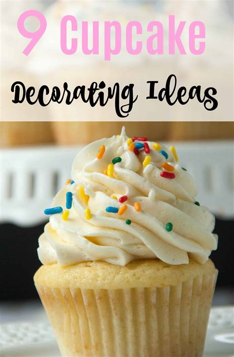 Decorating Ideas For Cupcakes by 12 Easy Cupcake Decorating Ideas Boston Bakes