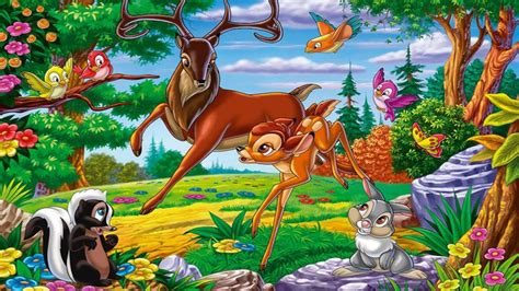 great prince   fores father  bambi friends thumper