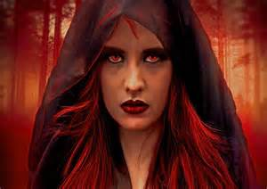 Witch with Red Hair