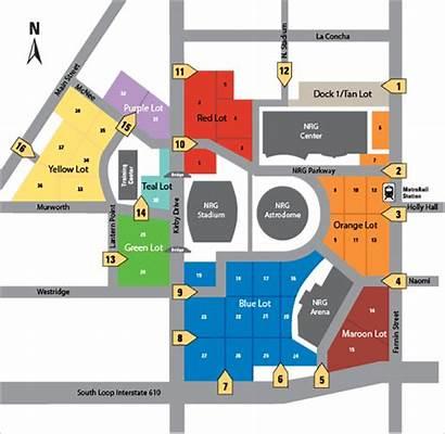 Nrg Parking Map Houston Park Rodeo Election