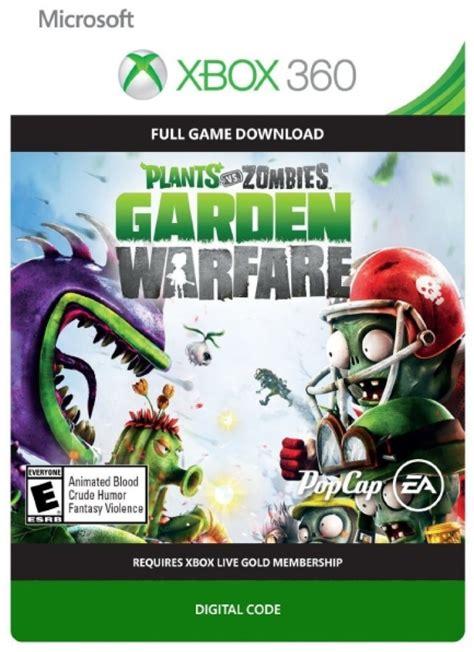 Plants Vs Zombies Garden Warfare Xbox 360 Download Code