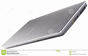 Closed Laptop Isolated Royalty Free Stock Image - Image ...