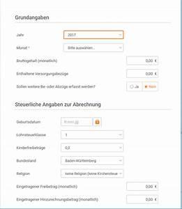 Netto Brutto Rechnung : bruttonetto rechner gehaltsrechner die steuererkl rung ~ Themetempest.com Abrechnung