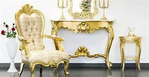 Divani in stile barocco: dettagli dorati Dalani e ora Westwing