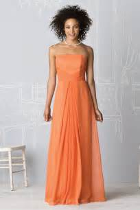 cheap orange bridesmaid dresses buy cheap chiffon orange wholesale style bridesmaid dresses