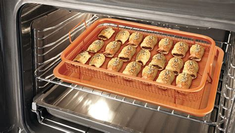 copper air fryer oven crisper  piece baking