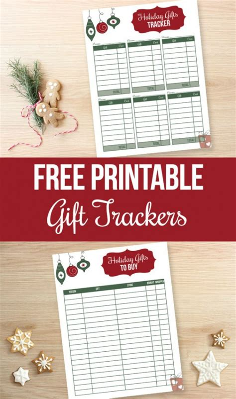 buying gifts tracker sheet printable gift list hoosier