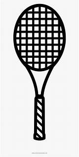 Racket Tennis Coloring Template Alternate Interior Examples sketch template