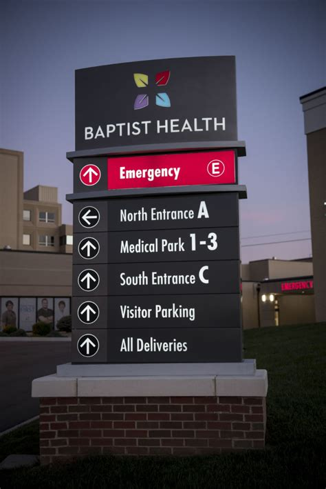 Baptist Health | L&H Sign Company, Philadelphia, PA