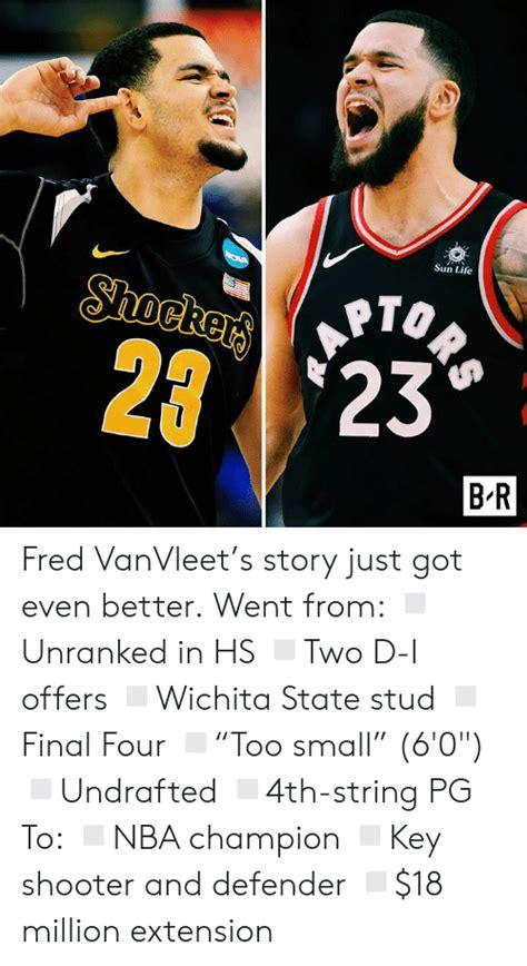 Sun Life ORS Shockers 2 23 B R Fred VanVleet's Story Just ...