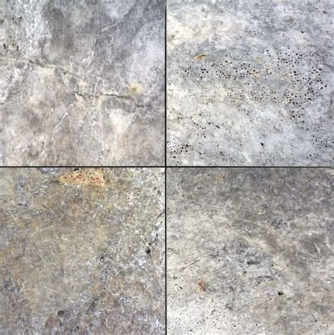 16x16 travertine tile 16x16 honed unfilled tumbled silver travertine tile traditional wall and floor tile by