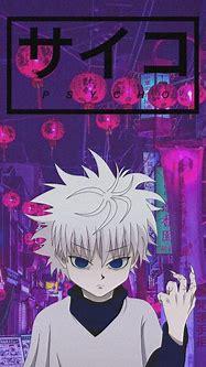 Lock Screen Killua Gif Wallpaper Iphone