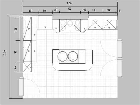 plan cuisine moderne modèle de plan de maison plain pied avec 3 chambres et