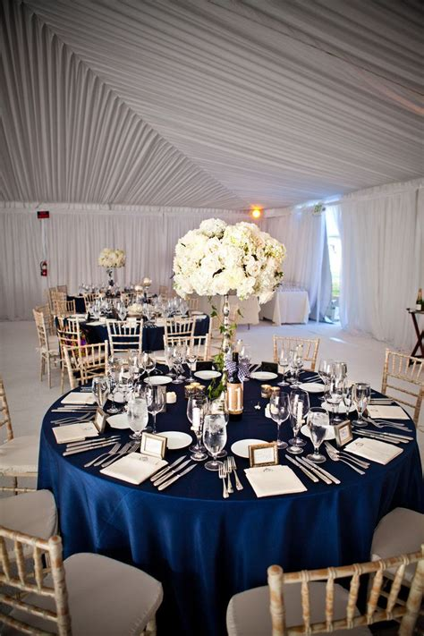 navy blue and white wedding table decorations navy and white wedding ideas emmaline bride