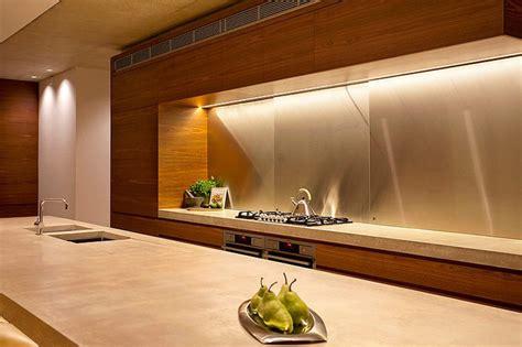 ilot central dans cuisine maison moderne australienne pour une famille moderne vivons maison
