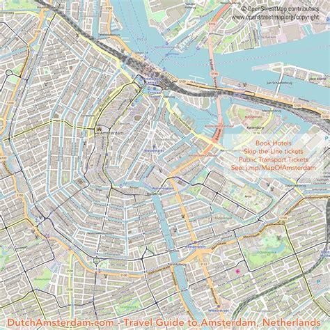 map  amsterdam dutchamsterdamcom