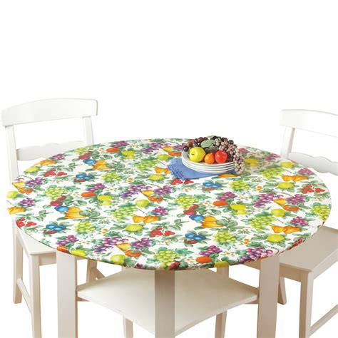 fitted table covers elastic fitted elastic table cover by collections etc ebay