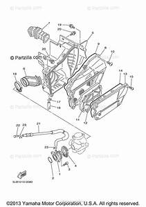 Yamaha Motorcycle 2004 Oem Parts Diagram For Intake